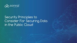 10 Foundational Principles for Securing Data in the Public Cloud