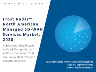 Frost & Sullivan 2020 North American Managed SD-WAN Services Market