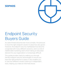Endpoint Security Buyers Guide