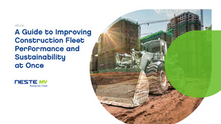 A Guide to Improving Construction Fleet Performance and Sustainability at Once