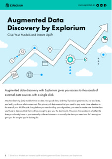 Augments Data Discovery by Explorium