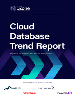 Cloud Database Trend Report