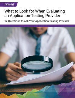 12 Questions to Ask Your Application Security Testing Provider