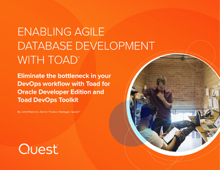 Enabling Agile Database Development with Toad