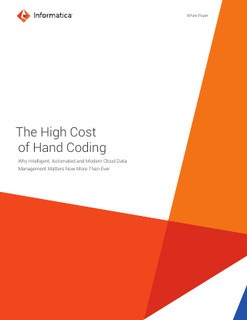 The High Cost of Hand Coding