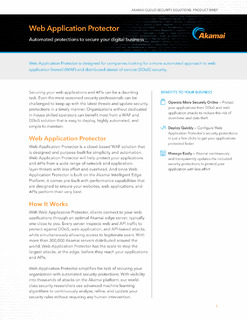 Web Application Protector Product Brief