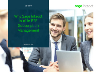 Why Sage Intacct is #1 in B2B Subscription Management