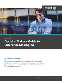 Decision Maker's Guide to Enterprise Messaging