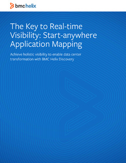 The Key to Real-time Visibility: Start-anywhere Application Mapping
