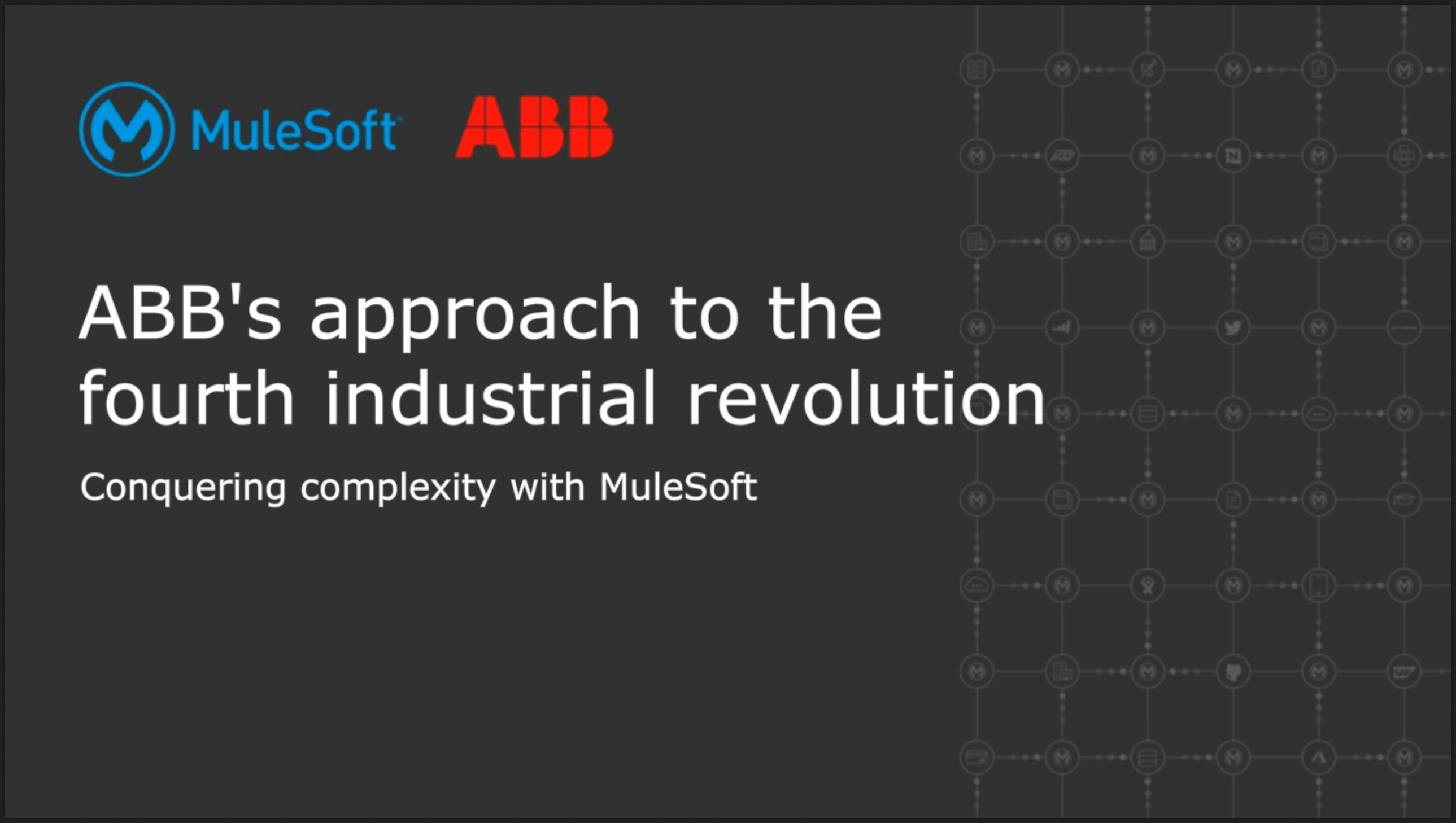 ABBs approach to the fourth industrial revolution
