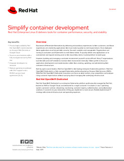 Simplify Container Development – Red Hat Enterprise Linux 8 Delivers Tools for Container Performance, Security, and Stability