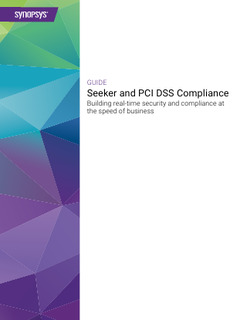 Seeker and PCI DSS Compliance