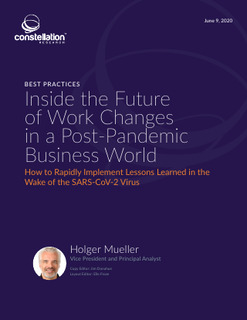 Best Practices Inside the Future of Work Changes in a Post-Pandemic Business World