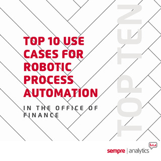 TOP 10 USE CASES FOR ROBOTIC PROCESS AUTOMATION