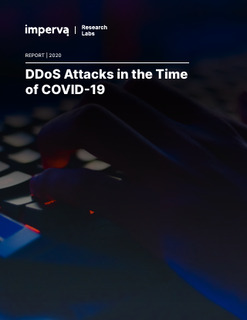 DDoS Attacks in the Time of COVID-19