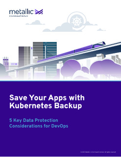 5 Key Data Protection Considerations for DevOps