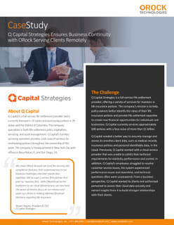 Q Capital Strategies Secures its Cloud for a Work From Home Normal