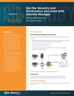 Protected: Get the Security and Governance You Need with Identity Manager