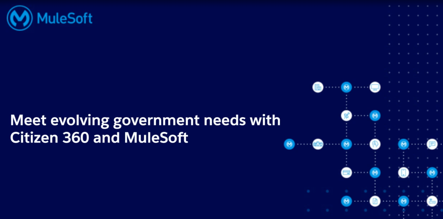 Webinar – Meet evolving government needs with Citizen 360 and MuleSoft