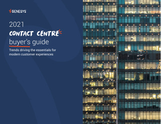 2021 Contact Centre Buyers Guide