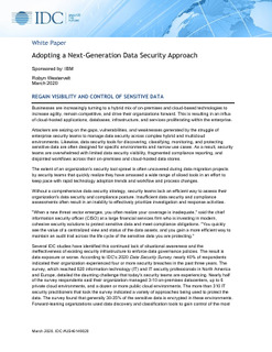 Adopting a Next Generation Data Security Strategy