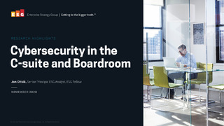 Cybersecurity in the C-suite and Boardroom