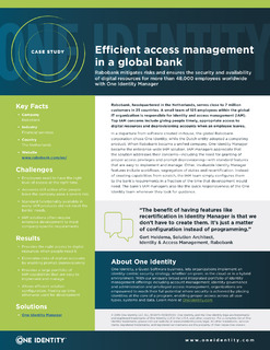 Protected: Efficient Access Management in a Global Bank
