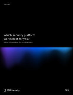 Which Security Platform Works Best for You?