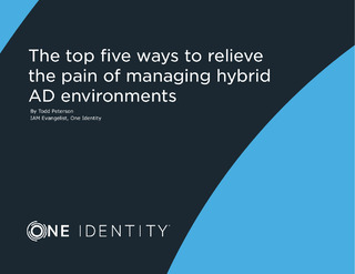 The Top Five Ways to Relieve the Pain of Managing Hybrid AD Environments
