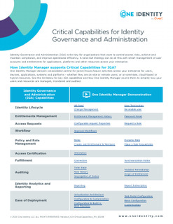 Protected: Critical Capabilities for Identity Governance and Administration