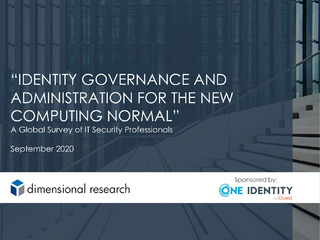 Protected: Identity Governance and Administration for the New Computing Normal