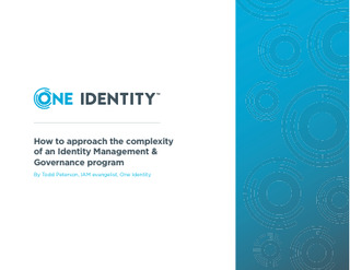 Protected: How to Approach the Complexity of an Identity Management & Governance Program