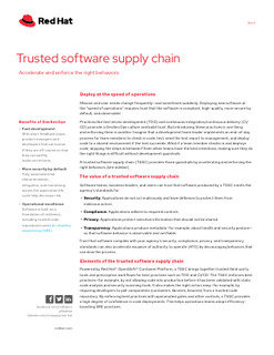 Trusted Software Supply Chain to adopt DevSecOps
