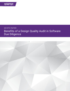 Benefits of a Design Quality Audit in Software Due Diligence