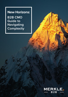 Navigating Complexity: A Guide for B2B CMOs