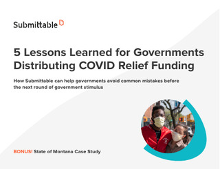 5 Lessons Learned for Governments Distributing COVID Relief Funding