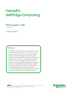 I benefici dell'Edge Computing