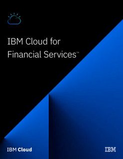 The world's First Financial Services-ready Public Cloud