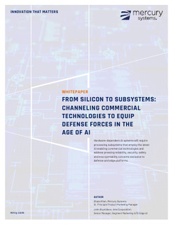 White Paper:Channeling Commercial Technologies; in partnership with Intel