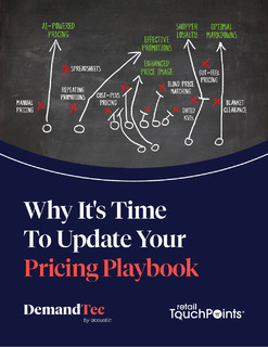 Why It's Time to Update Your Pricing Playbook