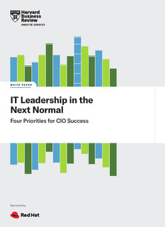 IT Leadership in the Next Normal