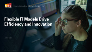 Flexible IT Models Drive Efficiency and Innovation