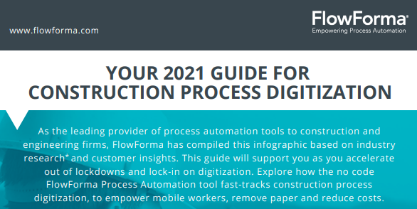 Your 2021 Guide For Construction Process Digitization