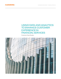 Using Data and Analytics to Enhance Customer Experience in Financial Services