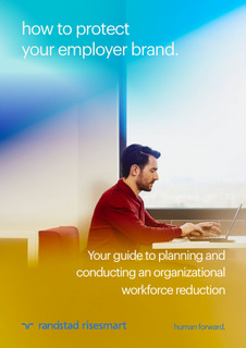 Guide to planning and conducting an organizational workforce reduction